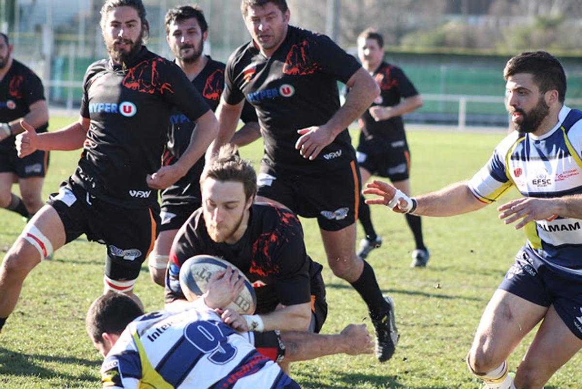 La Menuiserie Chazalon soutient le SC Privas Rugby