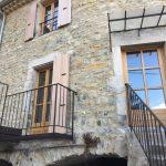 Réhabilitation d'une maison de village à Vesseaux