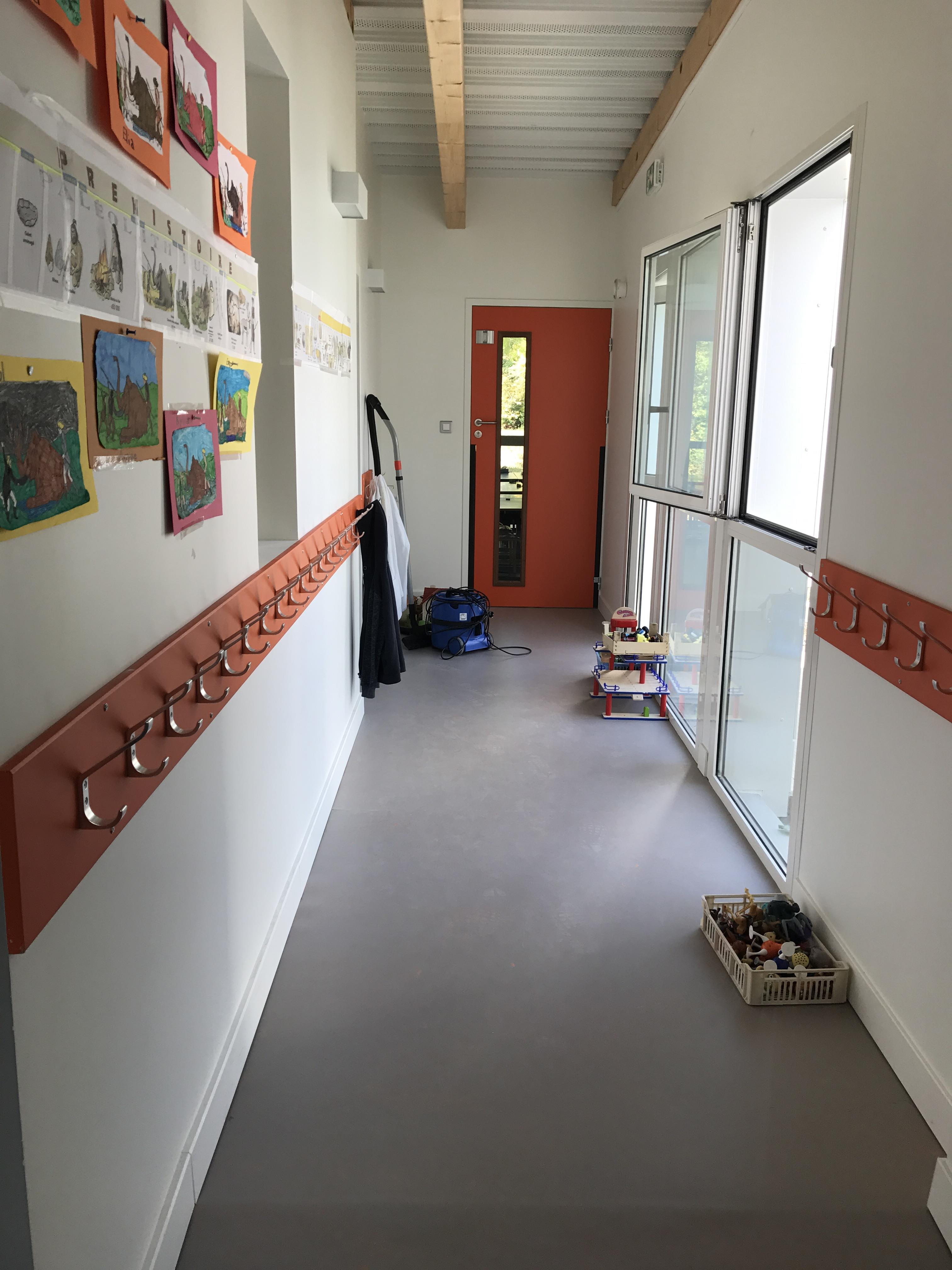 Rénovation de l'école Sainte-Croix à Aubenas
