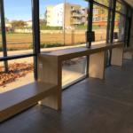 Espace d'accueil du public à l'Office de Tourisme de Vallon Pont d'Arc