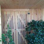 Bardage bois sur mesure, société Melvita