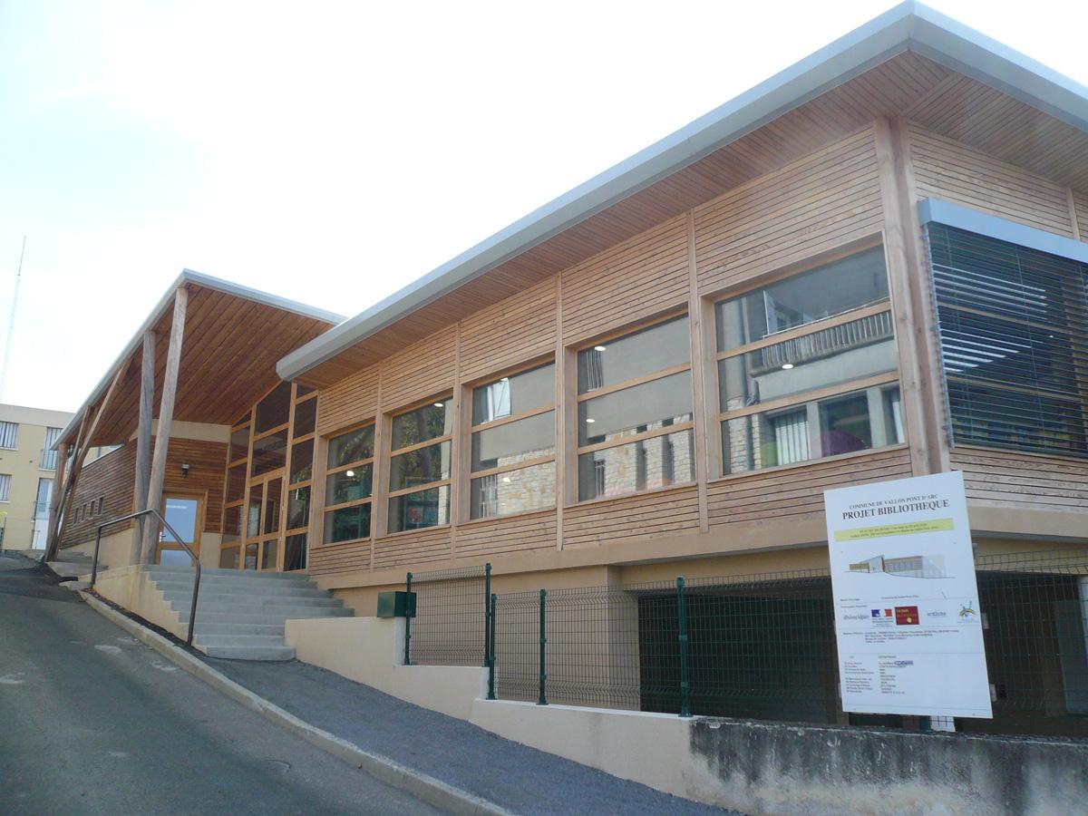 Bibliothèque de Vallon Pont d'Arc