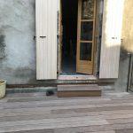 Réalisation d'une terrasse bois IPE sur mesure à Vesseaux